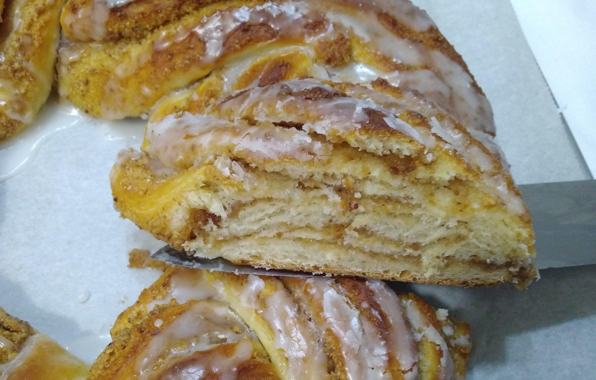 torta Angelica con crema alle nocciole
